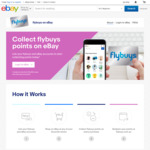 [Registrations Capped] Flybuys Points Now on eBay Purchases - 1 Point Per $1 or $2 Spent