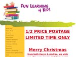 FunLearning4Kids Christmas Sale. 10% Full Price Items + 1/2 Price on Postage