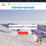 Win a First Timer Snow Experience for 4 Worth $11,480 from Thredbo