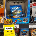 Monster Jam Mystery Packs at Woolworths 3 for $3. RRP $3 Each