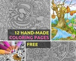 12 New Adult Coloring Pages for Free @ Favoreads.club