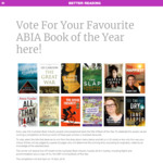 Win a Trip for 2 to Sydney (Includes VIP Tickets to The Australian Book Industry Awards, Flights, Accommodation + Book Pack)