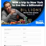 Win a Trip to New York for 2 Worth $30,000 from Nine Network