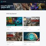 4x Free VR Games (Arcade Saga, Front Defense, Front Defense Heroes Multiplayer, Super Puzzle Galaxy Lite) @ Viveport
