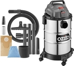 Ozito 1250W 25L Stainless Wet and Dry Vacuum $65 (Was $79) @ Bunnings