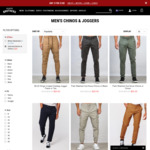 Jeans, Chinos $20 @ Hallenstein Brothers ($10 Shipping or Free When Order >= $50)