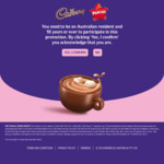 Instantly Win 1 of 330 Prizes [TV's, iPads, Ugg Boots, Kettles & $50 Visas] from Mondelez Australia (with Purchase)