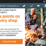 5x Everyday Rewards Points on Every Shop in-Store/Online @ Woolworths