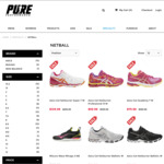 50% off All 2018 ASICS Netball Shoes Online @ Pure Performance