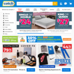 $15 off $60 Spend @ Catch
