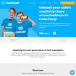 $20 off All Code Camps @ CodeCamp