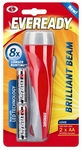 Eveready 2AA Brilliant Beam Torch $4.95 (Was $7.80) @ Bunnings Warehouse