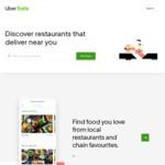$5 off Next Order via UberEATS (Existing Customers)