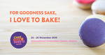 [NSW] Free Ticket to Cake Bake Sweets Show 23-25 November (Sydney)