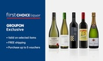 First Choice Liquor: Pay $10 to Receive $100 Online Credit to Spend on Selected Wines / Free Shipping @ Groupon ($199 Min Spend)