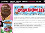 FREE Ice Creams @Ben & Jerry's -Tues. 12th April- 4 locations, Syd, Melb, MovieWorld, Broadway.