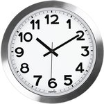 """HIPPIH Large 12"""" Non-Ticking & Silent Aluminium Wall Clock $26.34 + $5.99 Shipping ($0 with Prime) @ Fancee Home / Amazon Au"""