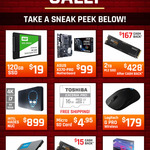 16GB Toshiba Exceria Pro MicroSD $4.95 Shipped, Samsung 970 Evo M.2 500GB @ $119 (+ $15 Cashback) + Shipping @ Shopping Express