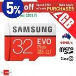 [eBay Plus] Samsung Evo Plus 32GB 2 for $15.95, Samsung Bar Plus 128GB 2 for $69.82, SanDisk Ultra 64GB 2 for $18.54 @ SS eBay
