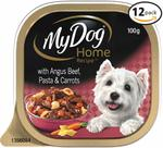 My Dog Home Recipe 12x100g $9.99 ($0.83/Tray) + Delivery (Free with Prime/ $49 Spend) @ Amazon AU