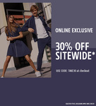 30% off Sitewide (Exclusions Apply) @ Lacoste (20% Cashback via Cashrewards)