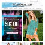 50% off All Sale Items @ Mombasa Rose Fashion