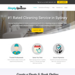 [NSW] 20% off Weekly Cleaning OR 10% off Fortnightly Cleaning @ Simply Spotless (Syd)