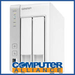 [eBay Plus] QNAP TS-231P 2 Bay NAS with 2x GBE $186.15 Delivered @ Computer Alliance eBay