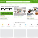 5-30% off Deals (Max Discount $40) @ Groupon
