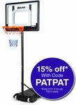 Dr.Dunk Adjustable Basketball Stand System Kids Hoop Portable Height Rim Ring $101.74 Delivered @ Mytopia eBay