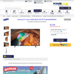"Samsung 65"" Series 6 Q60R QLED UHD 4K TV QA65Q60RAWXXY $1749 Delivered @ Powerland"