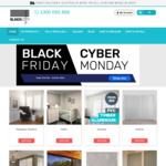 Black Friday / Cyber Monday Sale - up to 25% off on Blinds, Curtains, Awnings @ Blinds City