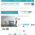 Black Friday @ B2C Furniture: Our Bella Occasional Chair Reduced to $189 (RRP $559) Plus Free Shipping*