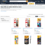 35% off BIC Pens and Markers When You Spend $10 + Delivery ($0 with Prime / $39 Spend) @ Amazon Australia