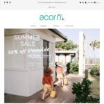 Acorn Kids 50% off Storewide