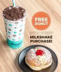 [VIC] Free Donut with Milkshake Purchase @ Daniel's Donuts