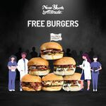 [VIC] Free Burgers for Healthcare Workers @ New York Minute Burger