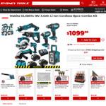 Makita DLX8014 18V 3.0Ah Li-Ion Cordless 8pce Combo Kit $1099 (Clearance) @ Sydney Tools