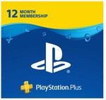 [PS4] PlayStation Plus 12 Month Membership Digital Download $55.95 (Was $79.95) @ EB Games