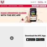 $5 Original Fillet Burger @ KFC via APP