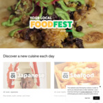 30% off Participating Japanese Restaurants - Local Food Fest ($20 Min Spend) @ Uber Eats