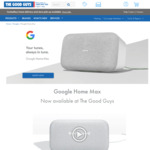 Google Home Max $194 C&C Only @ The Good Guys