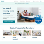 15% off Beds and Sofas at Koala