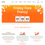 Jetstar Friday Fare Frenzy. SYD - GC $45, Bris - Ntl $45, Bris - Towns $65, Syd - Cns $79, Bris - Uluru $89 + MORE (Excl. VIC)