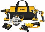 DEWALT 20V MAX Combo Kit, Compact 5-Tool $628.91 + Delivery ($0 with Prime) @ Amazon US via AU