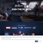 Win a Marvel Avengers (2020) PC Beta Key from Intel