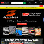 Repco Supercars Online Only Sale, Save $55 on $200, $25 on $100 & $15 on $75 Spend