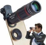 Apexel 18X Telephoto Phone Lens $11.49 (50% off) + Delivery ($0 with Prime/ $39 Spend) @ Aipai Optic via Amazon AU