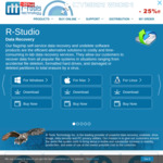 Black Friday &Cyber Monday Offer: R-Tools R-Drive Image Standalone A$45.63 (25% off)