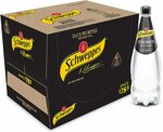 Schweppes Soda Water 12x 1.1l $15 + Delivery ($0 with Prime/ $39 Spend) @ Amazon AU